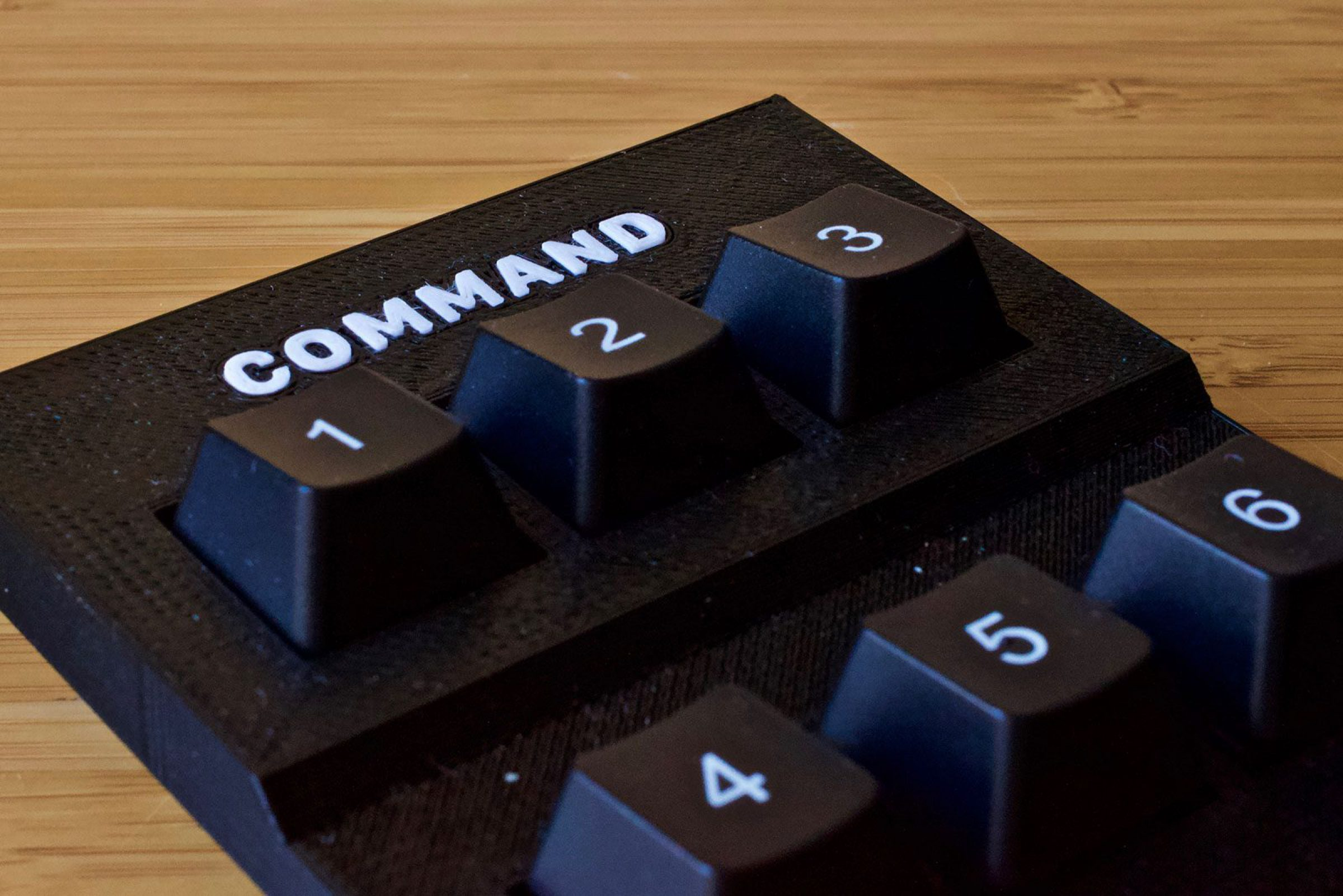 Keyboard Command Panel Component Test