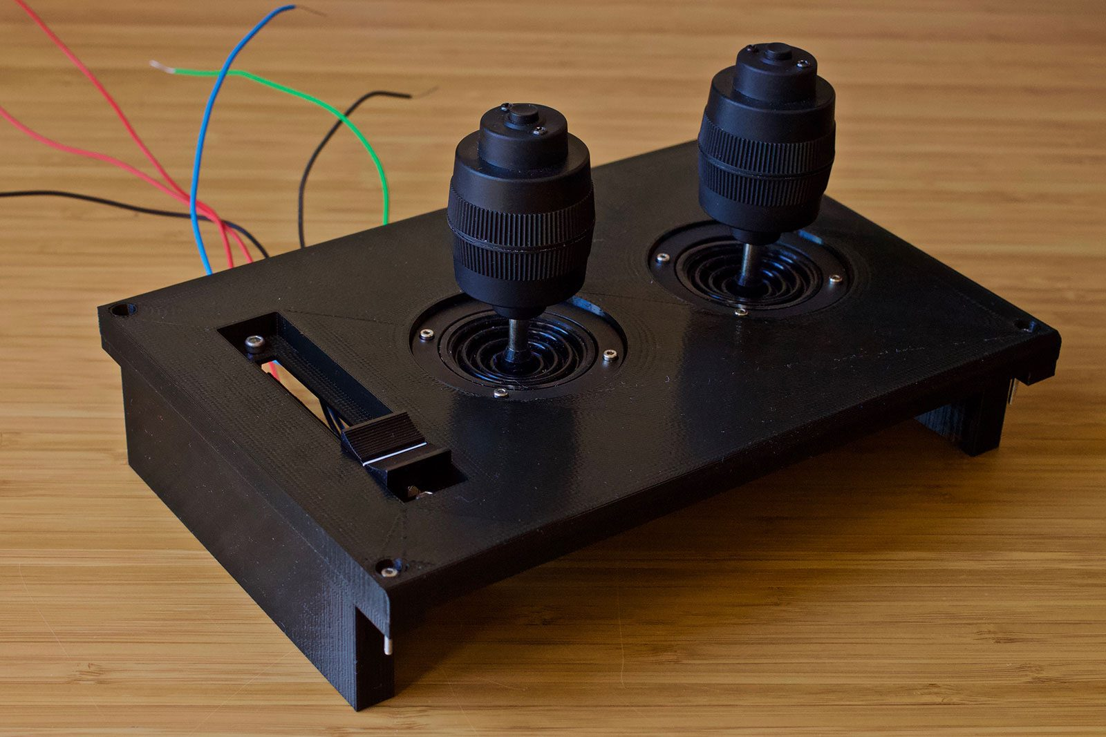Joysticks and Throttle Component Test
